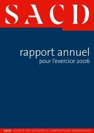 exercice 2006 (1.1 Mo) - SACD