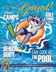 Summer 2012 - The City of Grand Prairie Parks and Recreation ...
