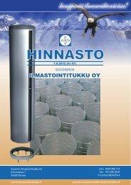 HINNASTO - Ilmastointitukku