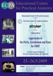 Educational Centre for Practical Anatomy - ECPA-CZ o.p.s.