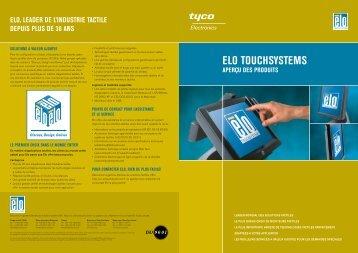 Télécharger des informations sur les technologies Elotouch - Solumag