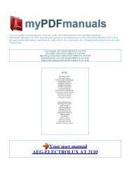 Elegant AEG Kundendienst In Europ