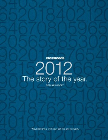 download the 2012 Crossroads Annual Report here