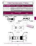 Fixed Attenuators - EMPOS - Page 3
