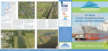 24th World Canals Conference shows richness of ... - watererfgoed.nl