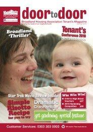 Tenant's Conference 2010 - Broadland Housing Association