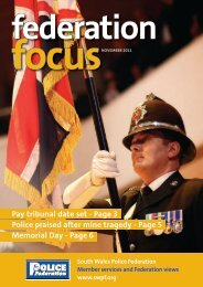 Page 6 - the South Wales Police Federation