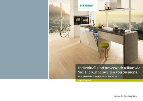 Download Prospekt Einbaukompetenz - Siemens