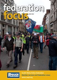 4 - the South Wales Police Federation