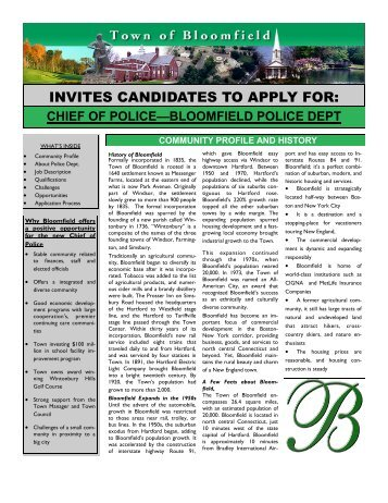 invites candidates to apply for - Slavin Management Consultants
