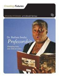 Professorship - University of Colorado Foundation