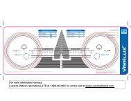 VX_1611 Varilux Centering Chart - Luzerne Optical Laboratories