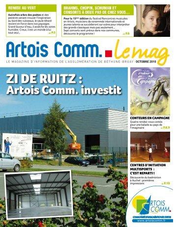 Le Mag octobre 2010 - Artois Comm.