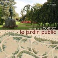 le jardin public - Ville de Cambrai.com