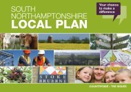 LOCAL PLAN - South Northamptonshire Council