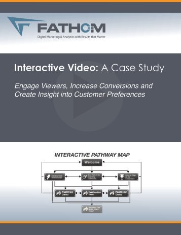 Interactive Video: A Case Study - Fathom