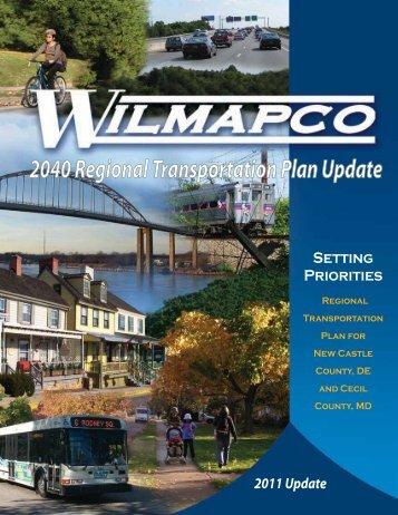 2040 Regional Transportation Plan Update - Wilmapco