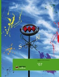 metroarte cultural corporation report - Metro de Santiago