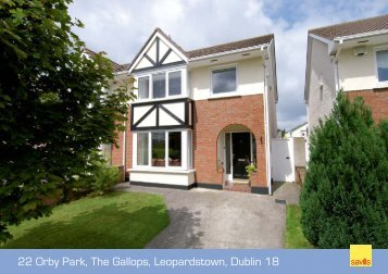 22 Orby Park, The Gallops, Leopardstown, Dublin 18 - Daft.ie