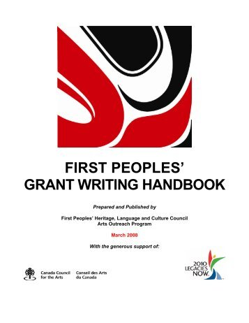 FIRST PEOPLES' GRANT WRITING HANDBOOK