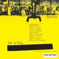 La plaquette In Situ, 2009-2010 - Accueil du site - Maison Populaire