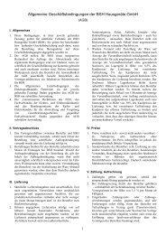 Allgemeine Geschäftsbedingungen - Siemens