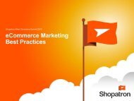 eCommerce Marketing Best Practices - Shopatron
