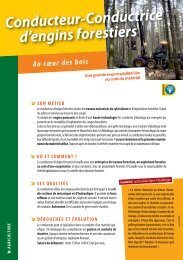 Conducteur-Conductrice d'engins forestiers - Onisep