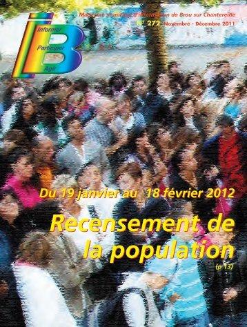 Recensement de la population Recensement de la population