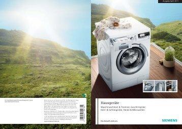 Hausgeräte - Siemens