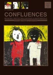 Confluences n°21 - Institut wallon pour la santé mentale (IWSM)