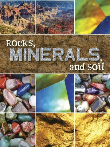 Rocks, Minerals, and Soil - Rourke Publishing eBook Delivery System