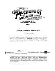 The Alchemist - Queensland Theatre Company