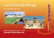 Carnoustie & District Community Plan (1.5 MB PDF) - Angus ...