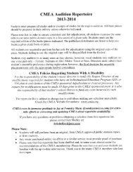 Audition-Rep-Rev-6-9.. - The Canton, CT K-12 Music Department