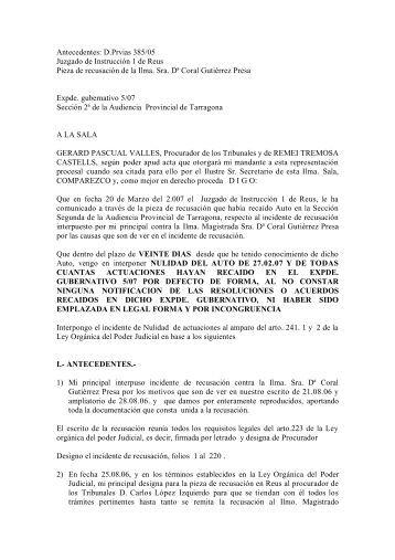 Petición de nulidad - injusticiacatalunya.info