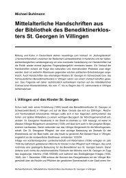 ters St. Georgen in Villingen - michael-buhlmann.de