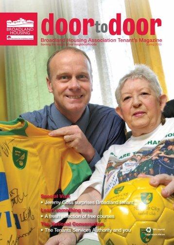 Broadland Housing Association Tenant's Magazine Special Visit ...