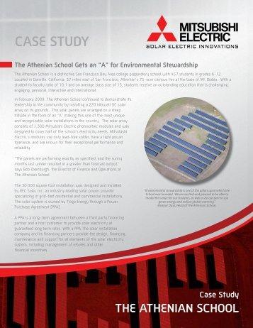 The Athenian School Case Study - Mitsubishi Electric