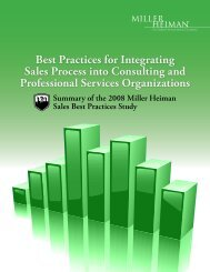 Best Practices for Integrating Sales Process into Consulting and ...