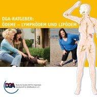 lymphödem und lipödem - der Deutschen Gesellschaft für Angiologie