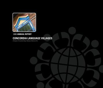 2005 annuaL rePort - Concordia Language Villages