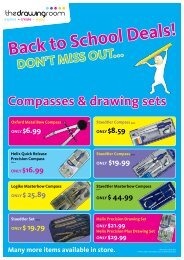 Compasses & drawing sets - The Drawing Room