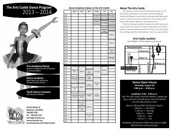 The Arts Castle Dance Program