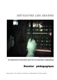 RETRAITER LES IMAGES Dossier pédagogique - Maison Populaire
