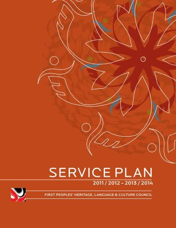 2011/12 - 2013/14 Service Plan - First Peoples