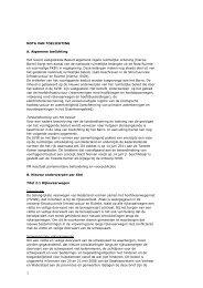 Nota van toelichting bij Besluit algemene regels ... - Rijksoverheid.nl