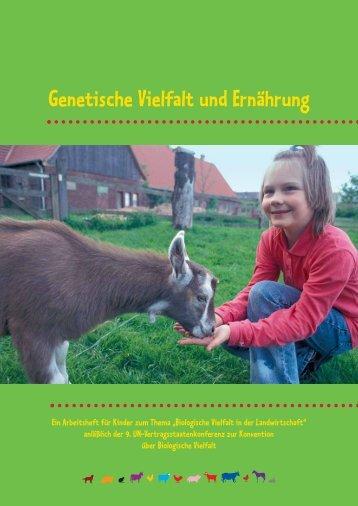 Genetische Vielfalt und Ernährung - Agrar Koordination