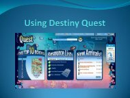 Using Destiny Quest.pdf - Calloway County Public Schools Intranet