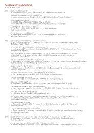 Komplette Liste der Publikationen zum Download - carsten roth ...